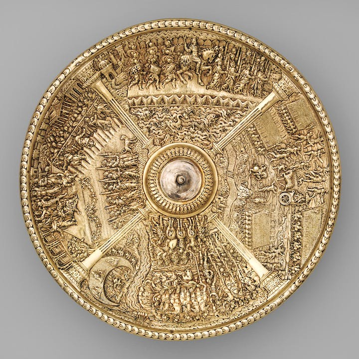 The Caligula dish from the Aldobrandini Tazze, ca. 1587–99, Netherlandish? Casa-Museu Medeiros e Almeida, Lisbon