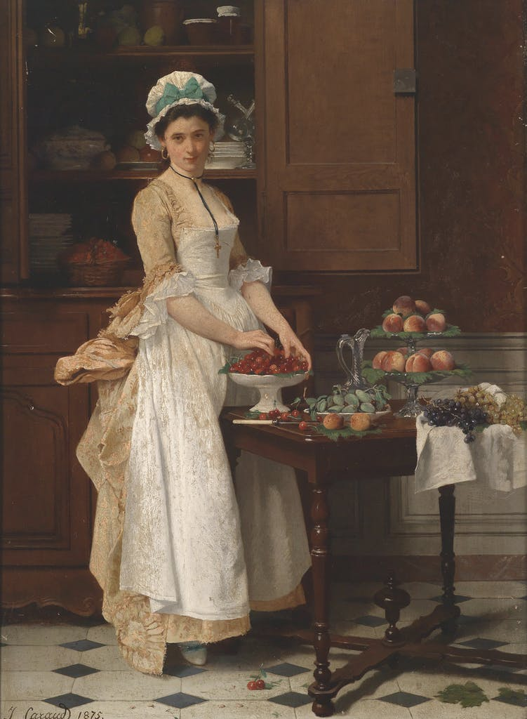 Cherry Girl, (1875), Joseph Caraud, private collection