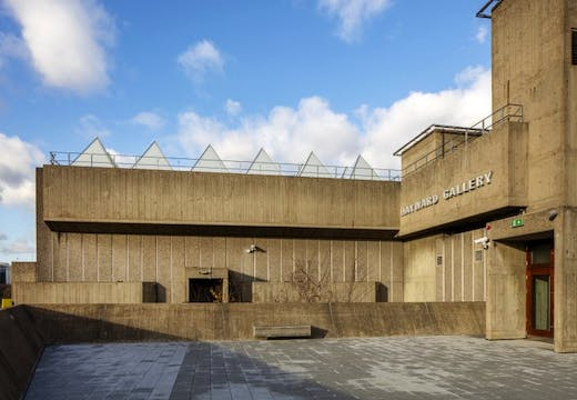 The Hayward Gallery, London, 2017, photo: Morley von Sternberg
