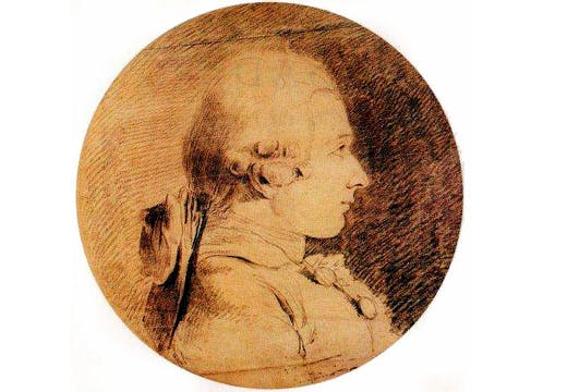 Portrait of Marquis de Sade (1760), Charles Amédée Philippe van Loo. Wikimedia Commons