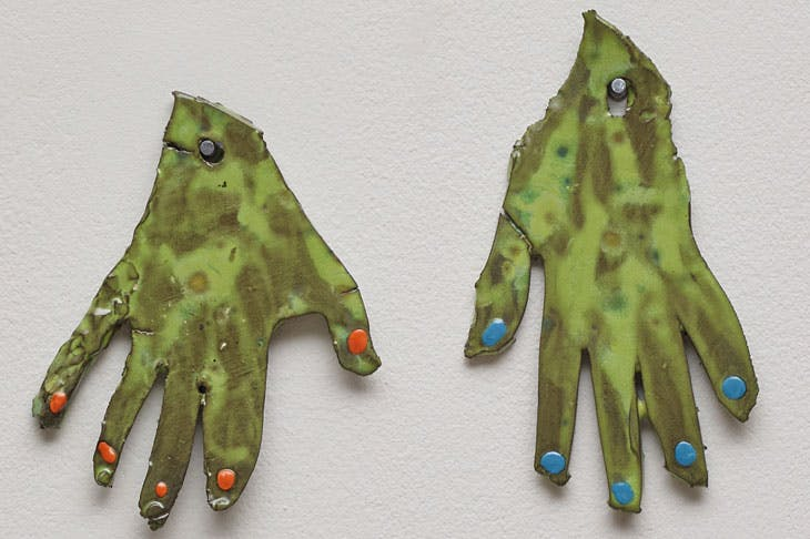 My Hands (2017), Polly Apfelbaum.