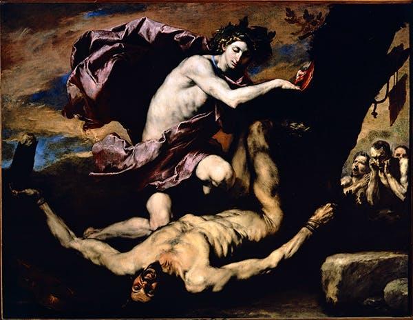 Apollo and Marsyas (1637), Jusepe de Ribera
