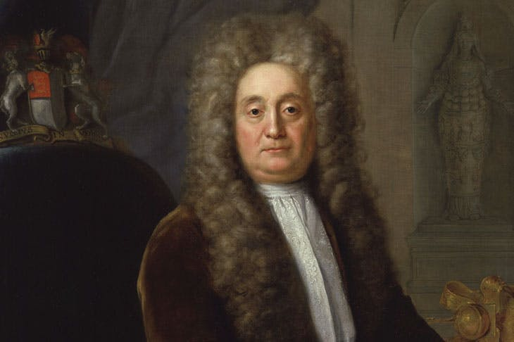 Sir Hans Sloane, Bt, 1736, Stephen Slaughter. National Portrait Gallery, London