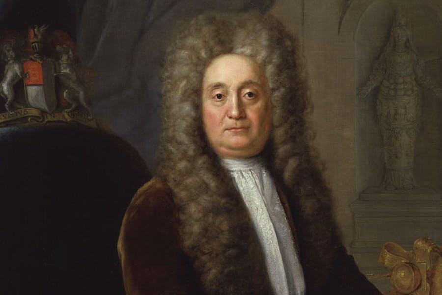 Sir Hans Sloane, Bt, 1736, Stephen Slaughter. National Portrait Gallery, London