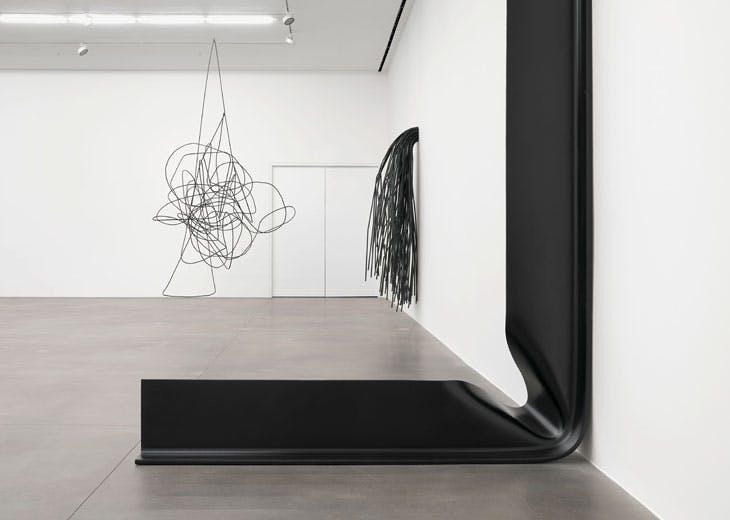 'Monika Sosnowska: Structural Exercises', installation view at Hauser & Wirth, London, 2017
