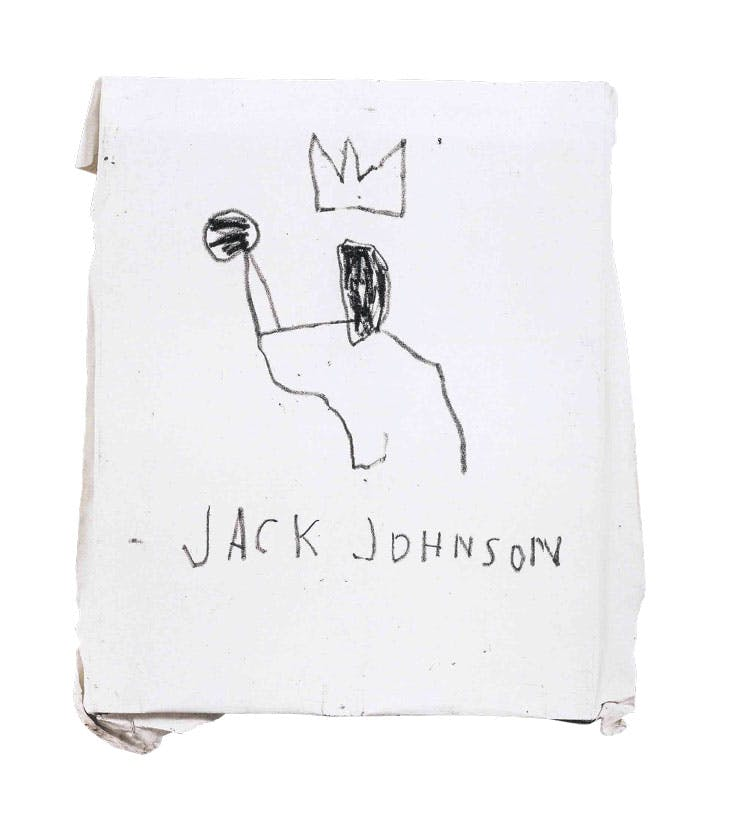 Jack Johnson (1982), Jean-Michel Basquiat