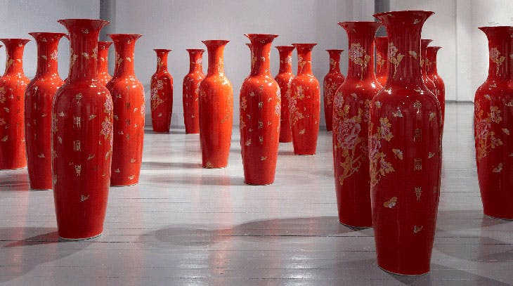 Made in China (2010), Clare Twomey. © Clare Twomey