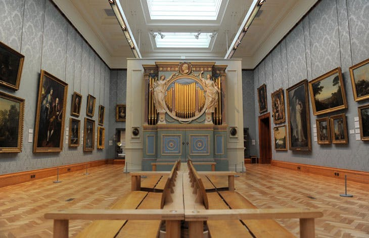 Sir Watkin Williams Wynn's chamber organ (1774). National Museum Cardiff. © National Museum Wales