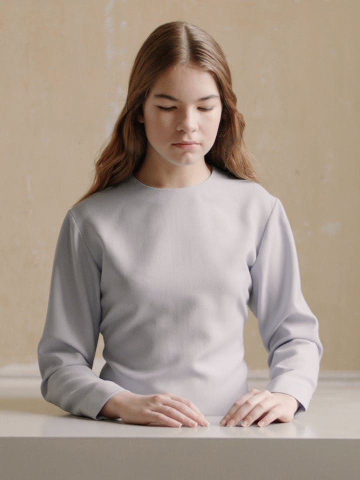 The Bread (video still; 2012), Michaël Borremans. Courtesy the artist and Zeno X Gallery, Antwerp