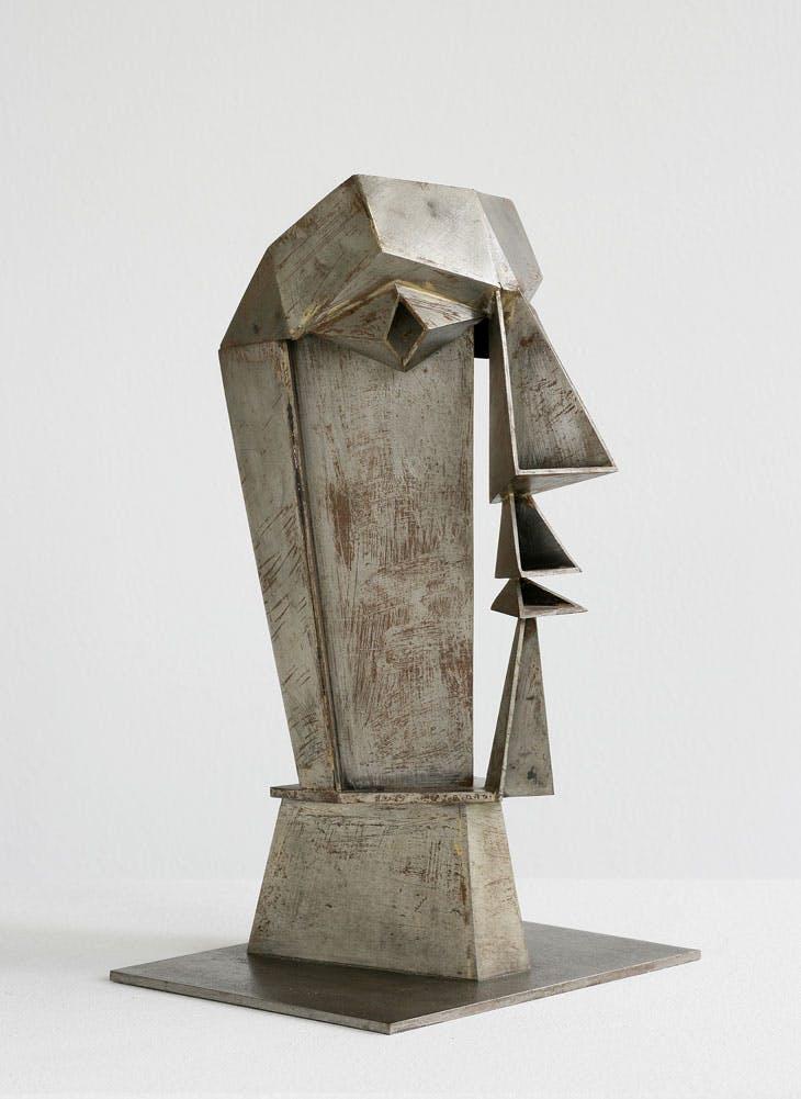 Männlicher Kopf/Male Head (1942) Hans Uhlmann.