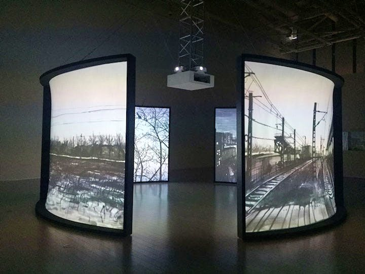 The Views (installation view; 2016), Chen Shaoxiong. Courtesy Pékin Fine Arts, Beijing