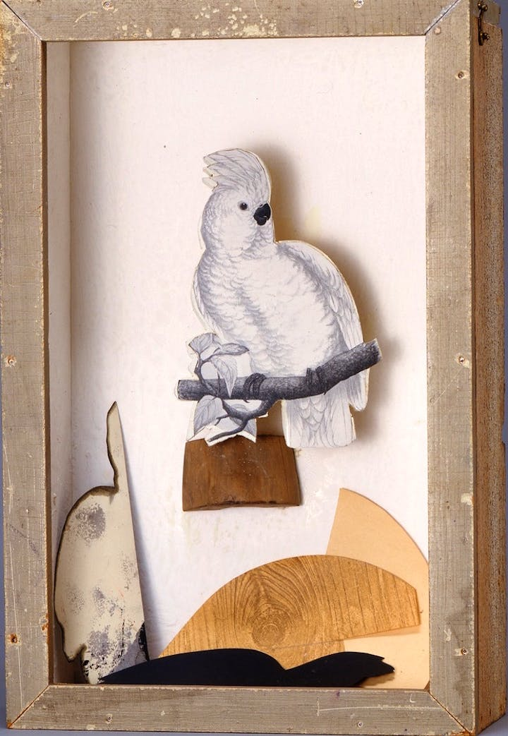 Untitled (Juan Gris Series) (ca. 1958), Joseph Cornell. © The Joseph and Robert Cornell Memorial Foundation/Licensed by VAGA, New York, NY