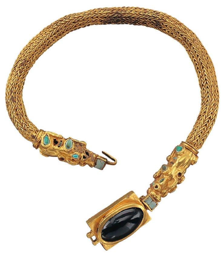 Necklace (1st century BC–1st century AD). Phoenix Ancient Art (price on application)
