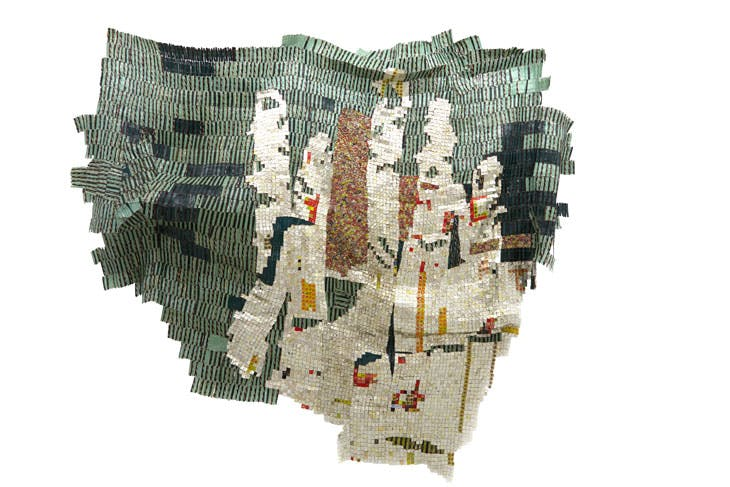 Intimation (2014), El Anatsui. Axel Vervoordt Gallery (price on application)