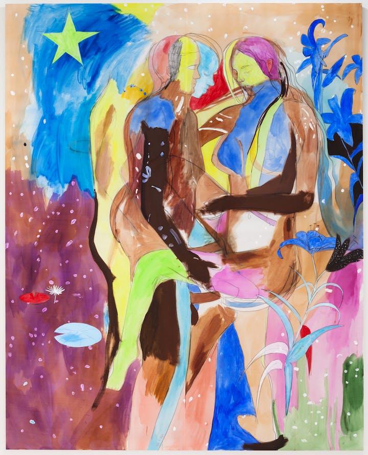 Adam and Eve (2014), Paul Heyer. Photo: Jason Mandella, courtesy of Paul Heyer and Chapter-NY