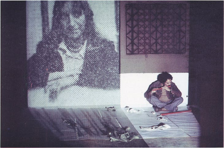 Paki Bastard (Portrait of an Artist as a Black Person)(1977), Rasheed Araeen, 1977