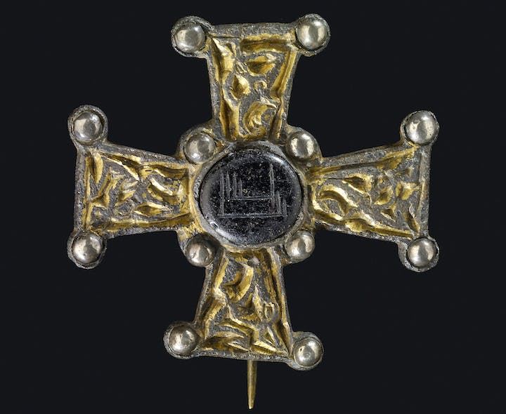 Ballycottin Cross (7th–8th century), found in Ballycottin bog, Ireland. © Trustees of the British Museum