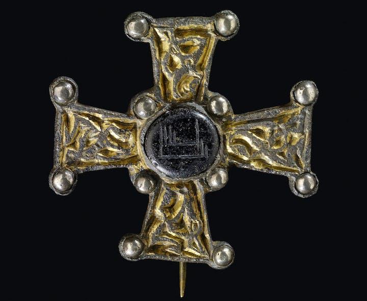 Ballycottin Cross (7th–8th century), found in Ballycottin bog, Ireland. © Trustees of the British Museum