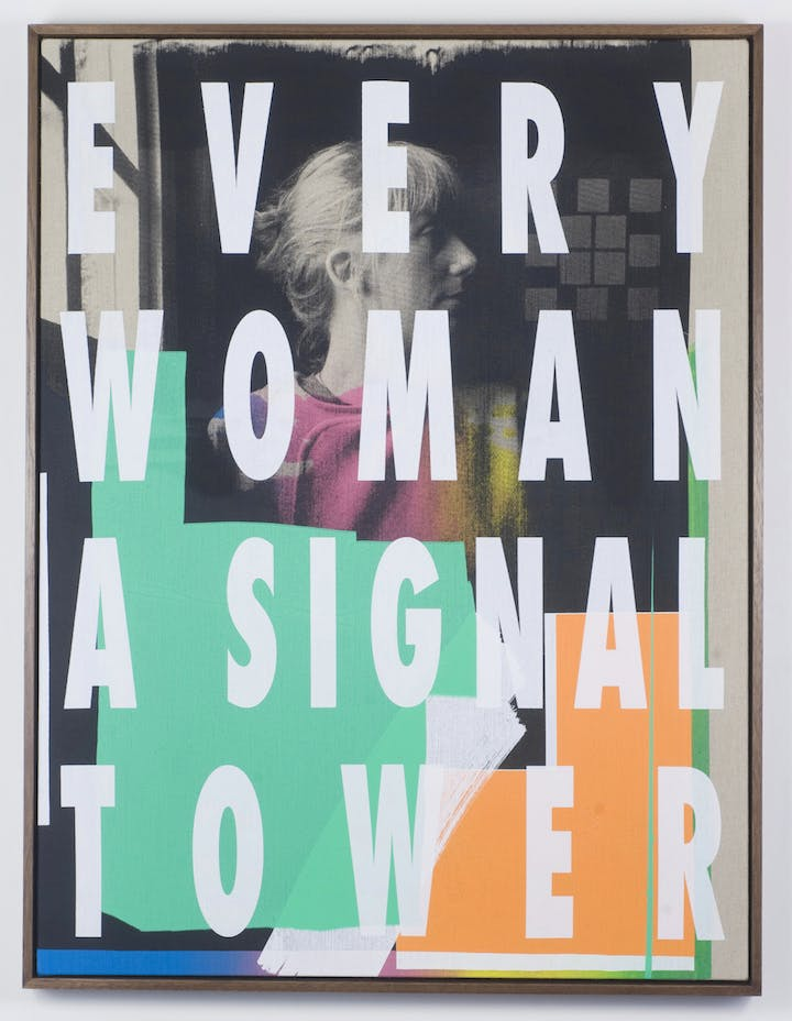 Every Woman a Signal Tower (2015), Ciara Phillips. Photo credit: Alan Dimmick