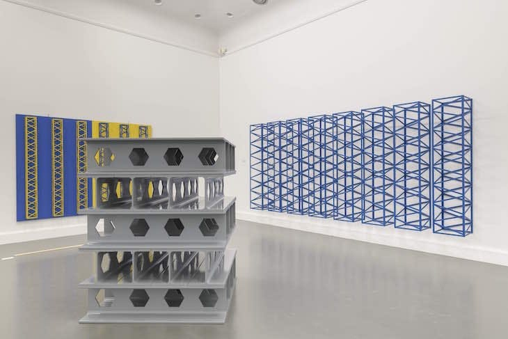 Installation view, 'Rasheed Araeen: A retrospective', at the Van Abbemuseum, Eindhoven, 2017