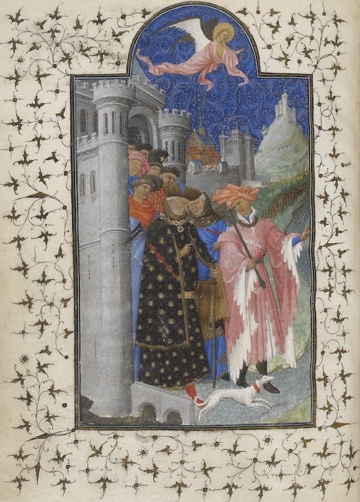 Petites Heures (c. 1408), Limbourg brothers.