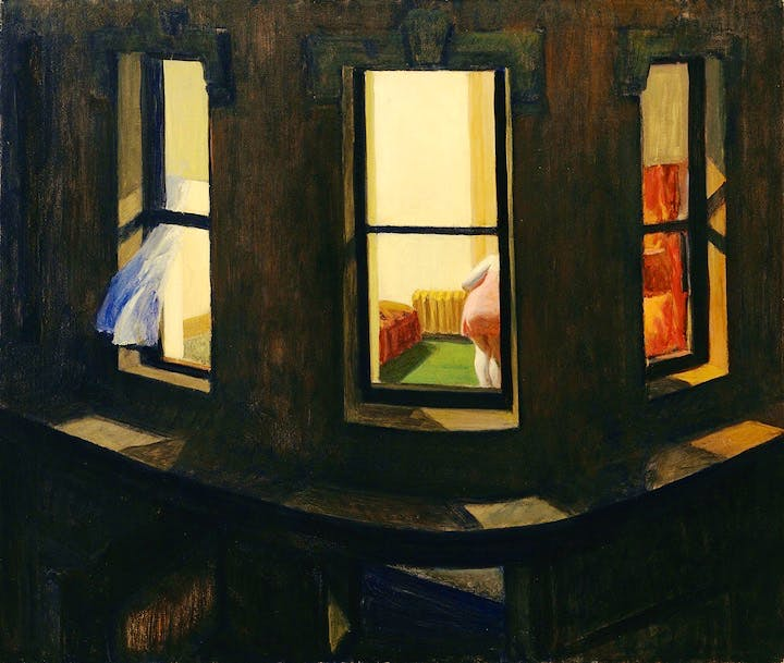 Night Windows (1928), Edward Hopper. © 2018. Digital image, The Museum of Modern Art, New York/Scala, Florence