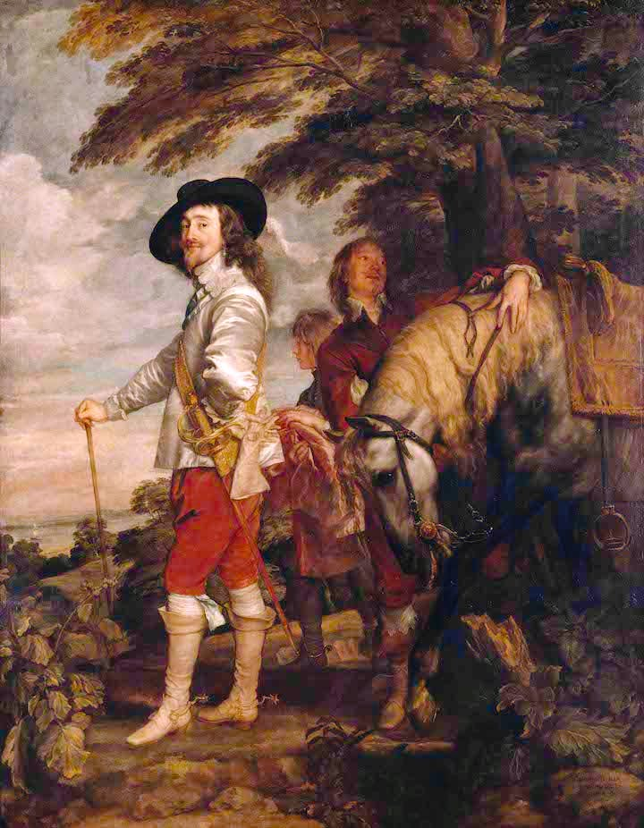 Charles I ('Le Roi à la chasse') (c. 1635), Anthony van Dyck. Courtesy of Louvre Museum, Paris