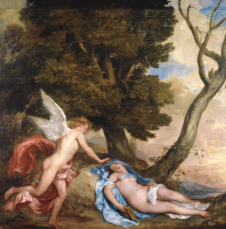 Cupid and Psyche (1639–40), Anthony van Dyck. Royal Collection Trust / © Her Majesty Queen Elizabeth II 2017