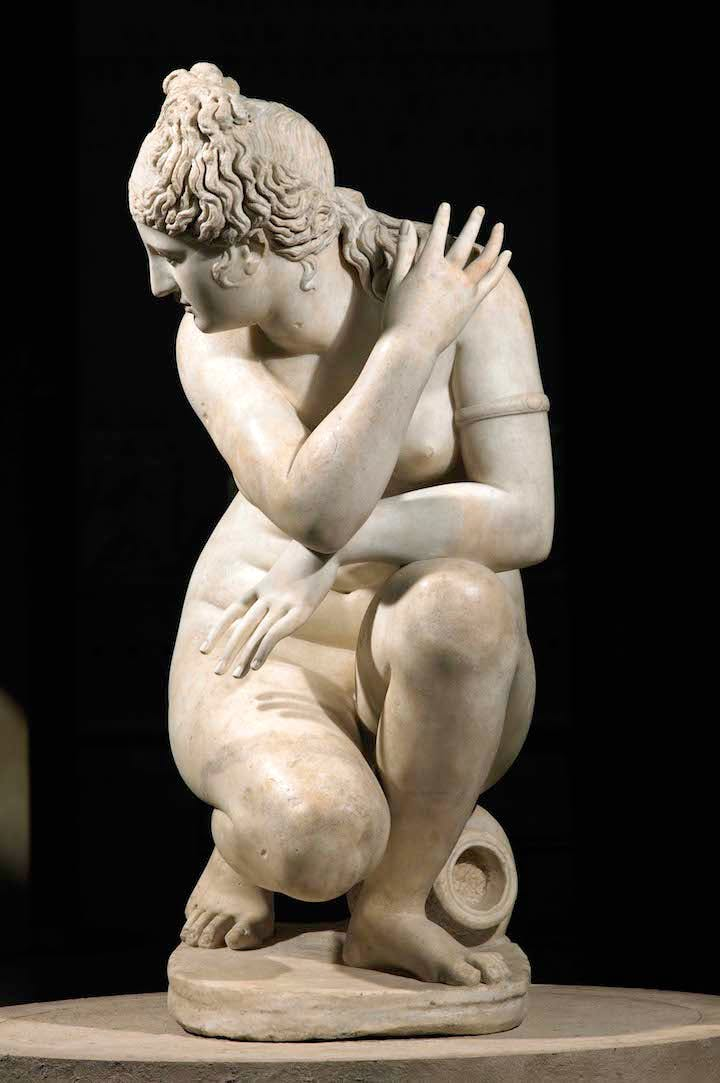 Aphrodite ('The Crouching Venus') Antonine period (2nd century AD). Royal Collection Trust / © Her Majesty Queen Elizabeth II 2017