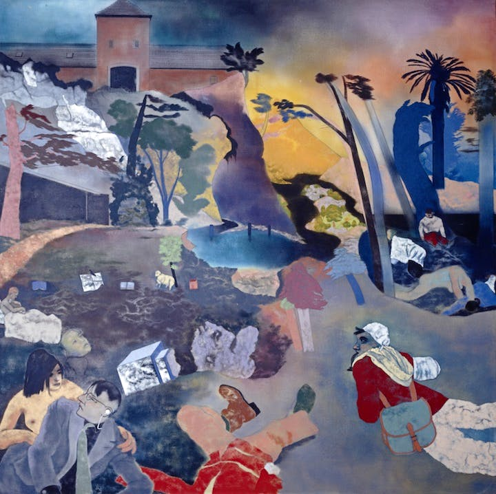 If Not, Not (1975–76), R.B. Kitaj. Courtesy National Galleries of Scotland