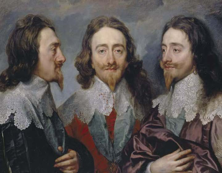 Charles I (detail; 1635–36), Anthony van Dyck. Royal Collection Trust / © Her Majesty Queen Elizabeth II 2017