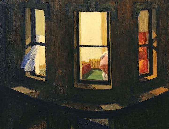 Night Windows (detail; 1928), Edward Hopper. © 2018. Digital image, The Museum of Modern Art, New York/Scala, Florence