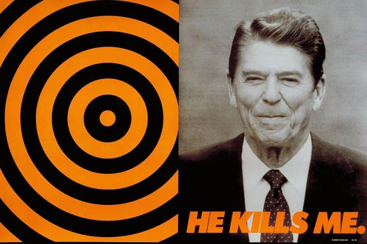 He Kills Me (1987), Donald Moffett