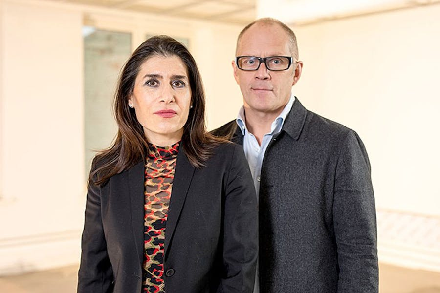 Eva González-Sancho and Per Gunnar Eeg-Tverbakk, who will curate the first edition of the Oslo Biennial, set to launch in 2019.