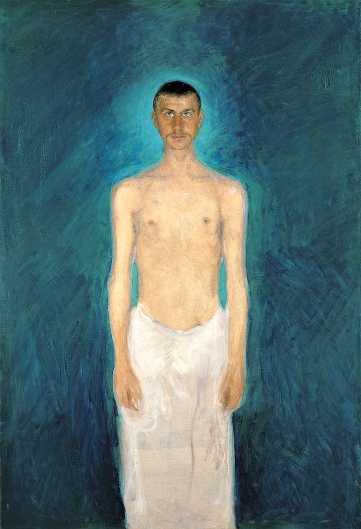 Semi-Nude Self-Portrait (1902/04), Richard Gerstl. Photo: Leopold Museum, Wien