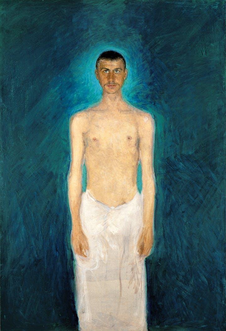 Semi-Nude Self-Portrait (1902/04), Richard Gerstl. Photo: Leopold Museum, Wien