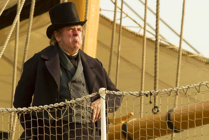 Timothy Spall as J.M.W. Turner in 'Mr Turner' (2014). Image courtesy Entertainment One