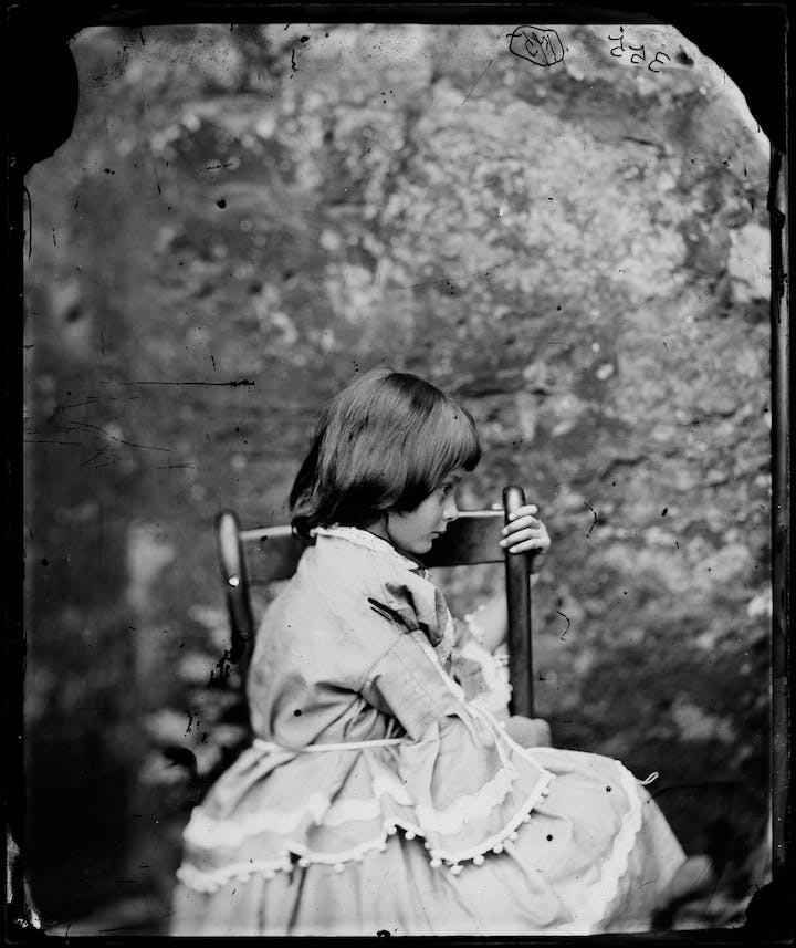 Alice Liddell (c. 1858), Lewis Carroll. © National Portrait Gallery, London