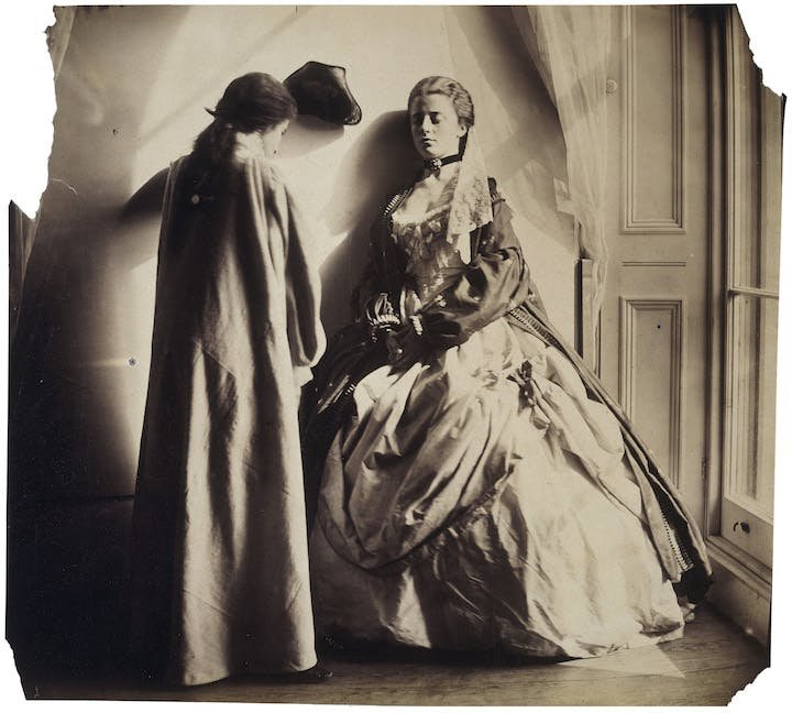 Photographic Study (Clementina and Isabella Grace Maude) (1863-64), Clementina Hawarden. © Victoria and Albert Museum, London