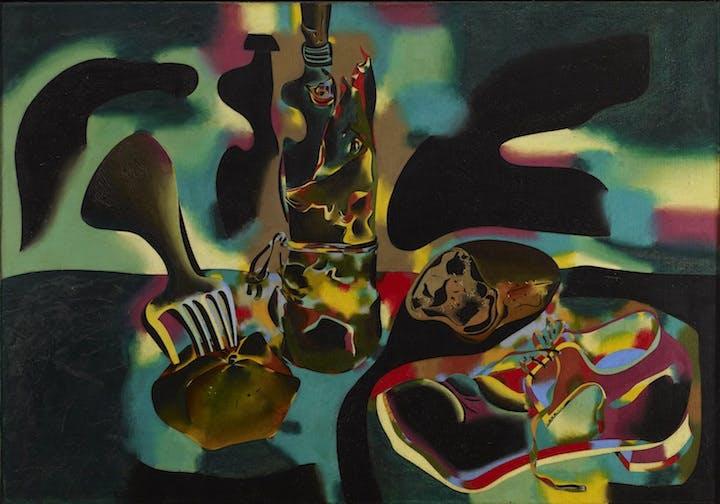 Still Life with Old Shoe (1937), Joan Miró. © SABAM Belgium 2018