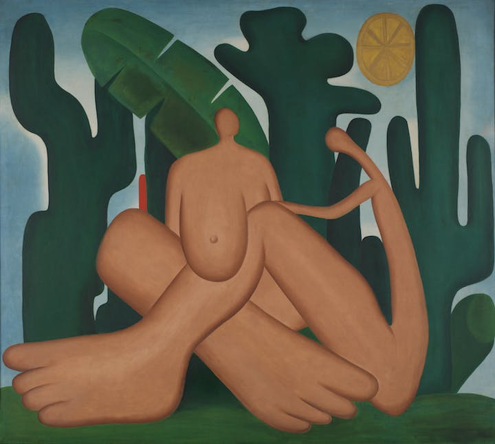 Anthropophagy (Antropofagia) (1929), Tarsila do Amaral. © Tarsila do Amaral Licenciamentos