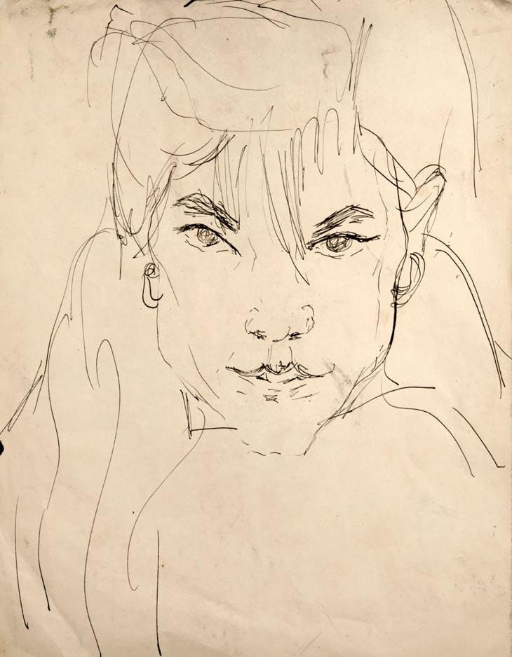 Untitled (Dody Muller) (n.d.), Jack Kerouac.
