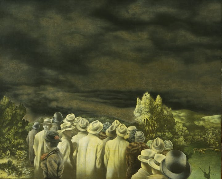 Expectation (1935–36), Richard Oelze. Digital Image © The Museum of Modern Art / Licensed by SCALA / Art Resource, NY