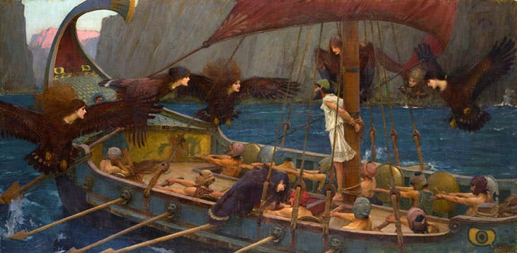 Ulysses and the Sirens (1891), J.W. Waterhouse. National Gallery of Victoria