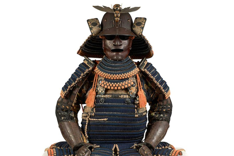 Daimyo armour (18th century), Japan. Private collection, France.