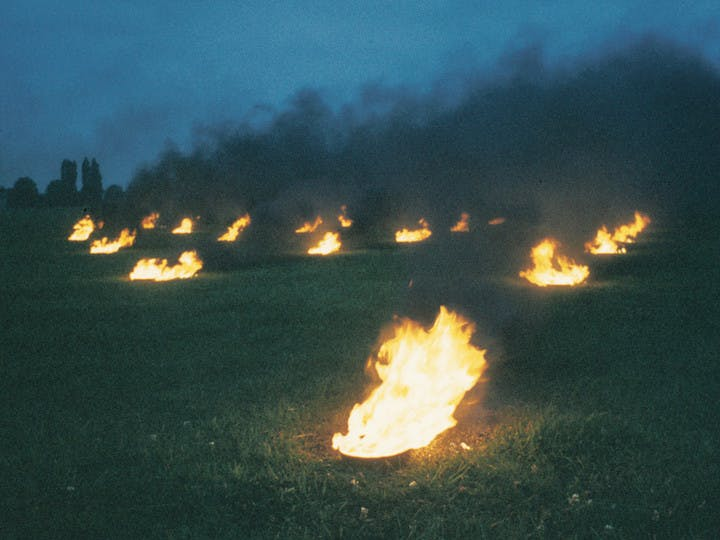 Landscape for Fire II (1972), Anthony McCall. Courtesy of Hepworth Wakefield
