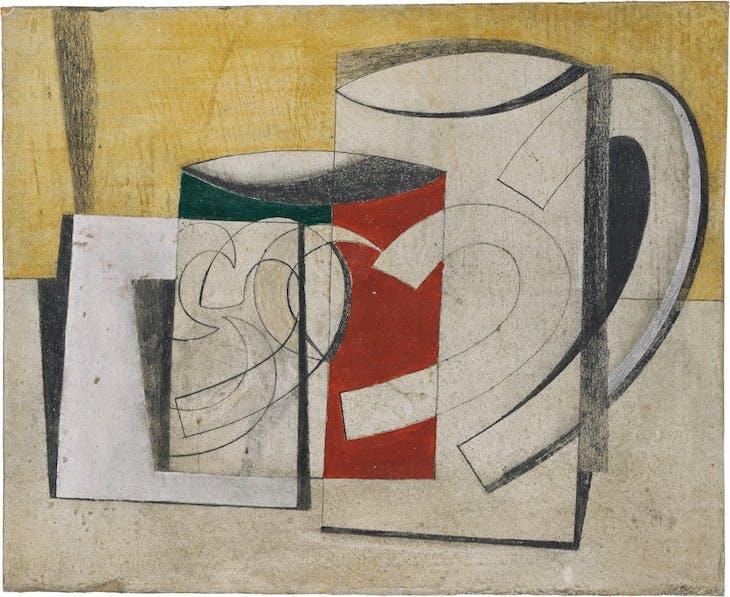 Mugs (1944), Ben Nicholson.