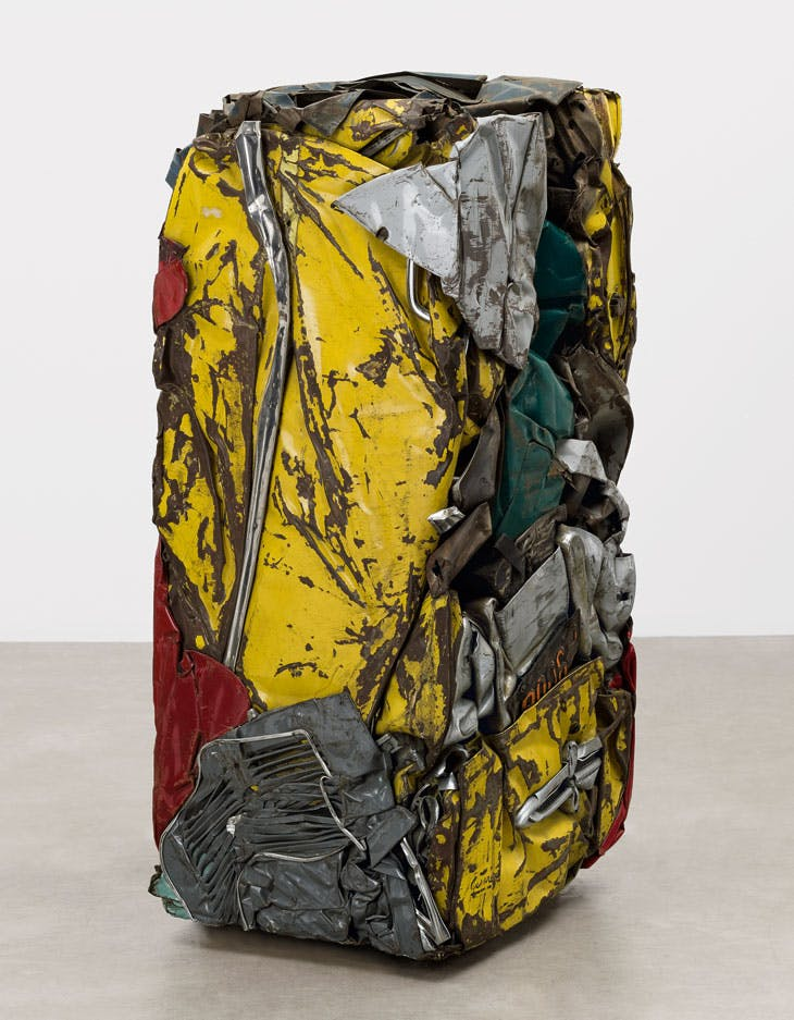 Compression: Yellow Buick (1961), César. The Museum of Modern Art, New York.
