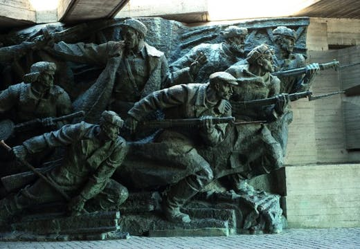 Sculpture at the National Museum of the History of Ukraine in the Second World War, photo: © Robert Harding/Alamy Stock Photos