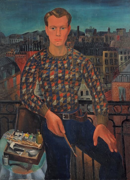 Self-Portrait (1927), Christopher Wood.